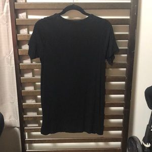 Forever 21 Tops - Black Low Cut Blouse